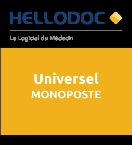 HelloDoc Universel-Licence MONOPOSTE.