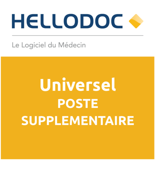 HelloDoc Universel- Licence Poste Supplémentaire