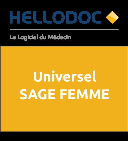 HelloDoc Universel Sage-femme-Licence Monoposte